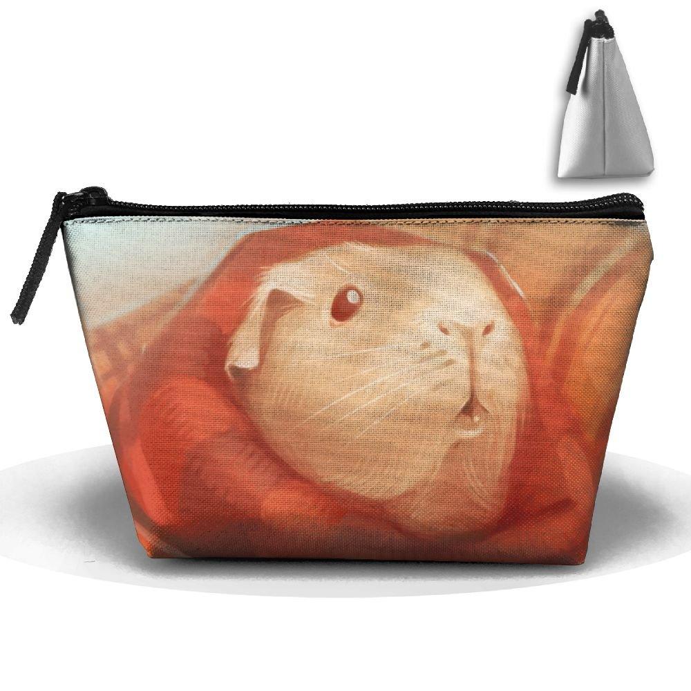 homlifeポータブル旅行Guinea Pig Art Illustrationストレージポーチコスメティック化粧品バッグオーガナイザー旅行アクセサリー   B07DS865KF
