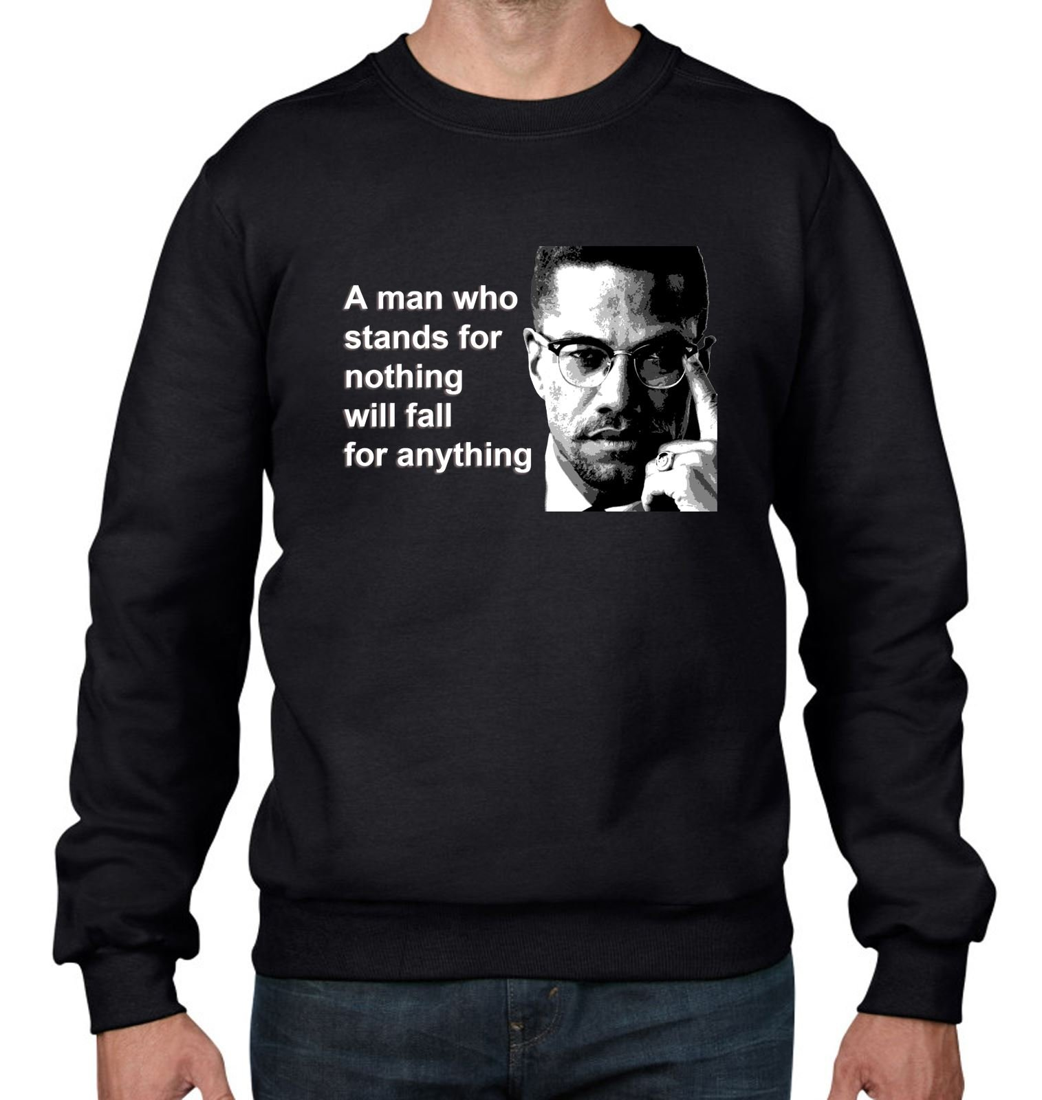 Tshirts Malcolm X Quote S Jumper