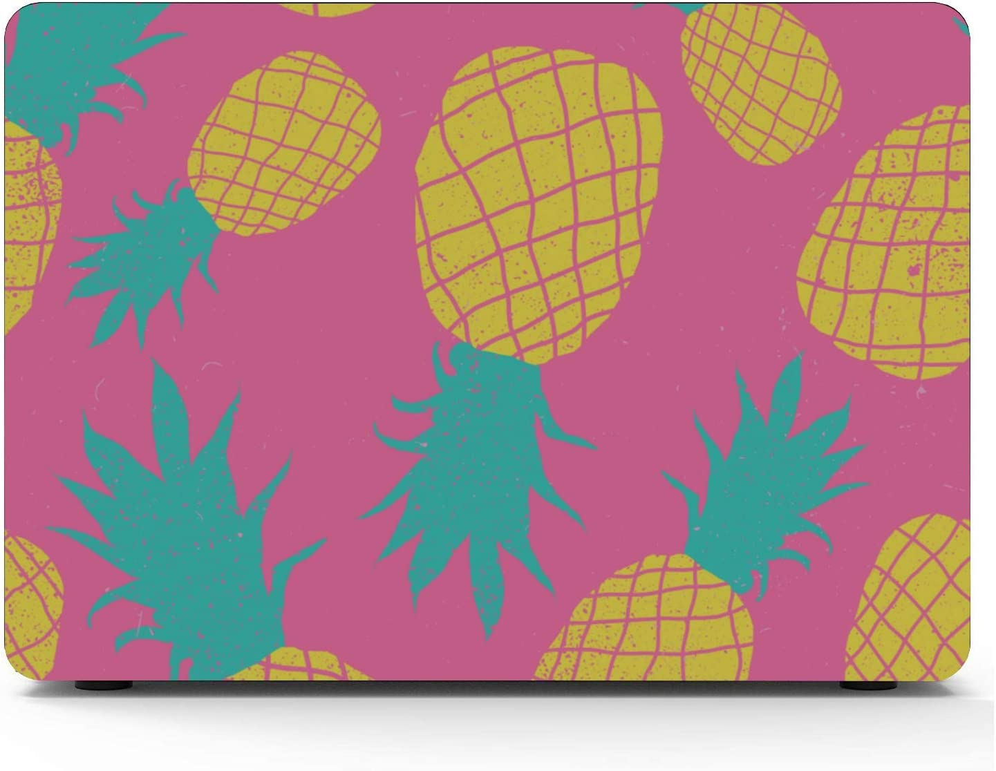MacBook Pro 2018 Accessories Summer Fashion Cute Fruit Pineapple Plastic Hard Shell Compatible Mac Air 11 Pro 13 15 A1707 MacBook Pro Case Protection for MacBook 2016-2019 Version
