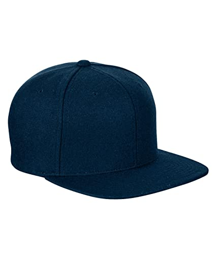 Image Unavailable. Image not available for. Color  Yupoong Melton Wool  Snapback Cap 6689M by Flexfit ... 28cea250933d