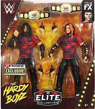 WWE Hardy Boyz Matt & Jeff Hardy Elite Limited Edition 2-Pack The Brood Mattel Action Figures: Amazon.es: Juguetes y juegos