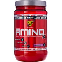 BSN Amino X Watermelon Bcaa Intra and Post Workout Recovery and Endurance Powder, 435 Grams