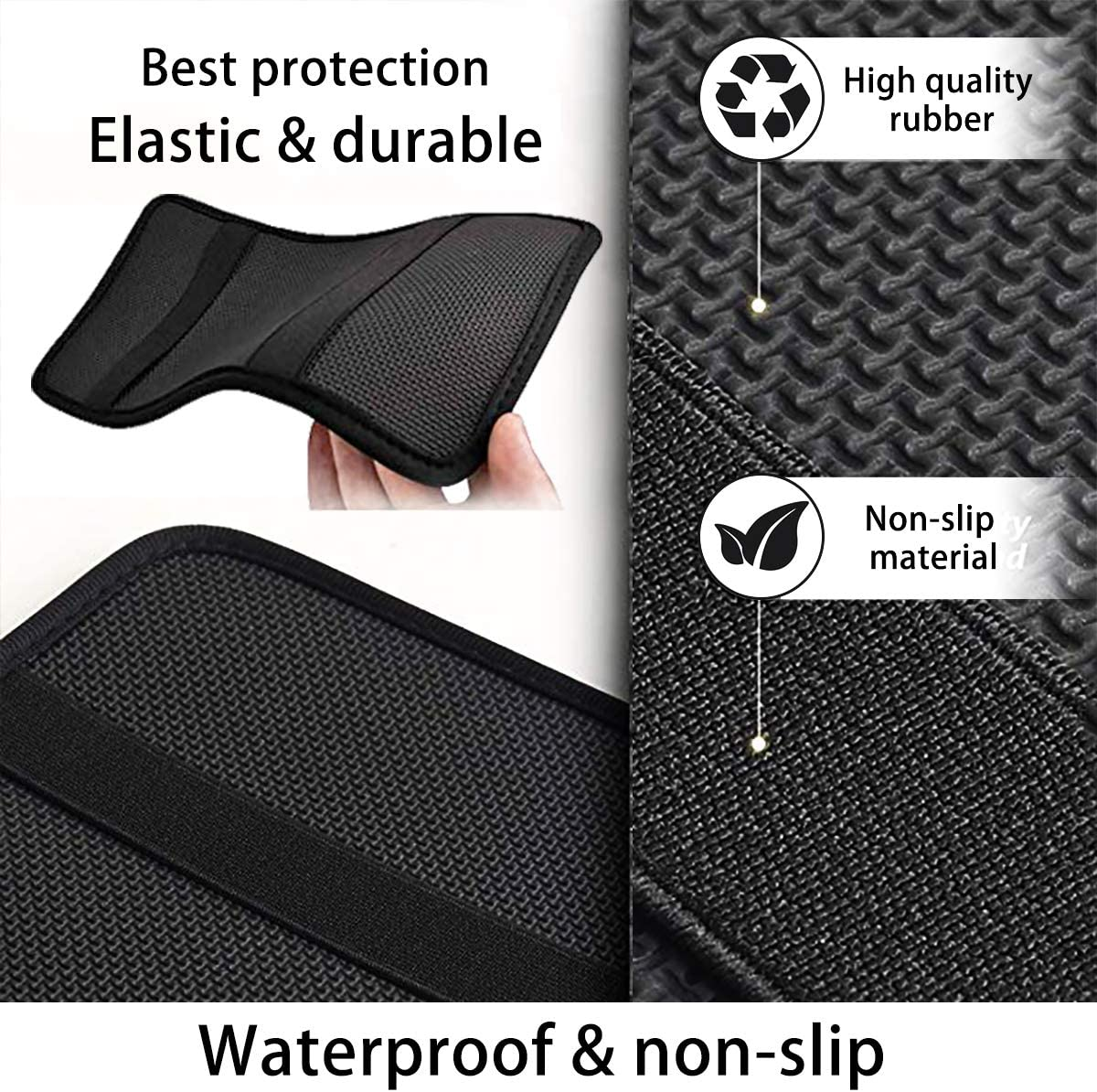 Advocator Tie dye Printed Auto Center Console Armrest Cover Protector Universal Car Armrest Box Cover Protector Vehicle Accessory Car Decoration