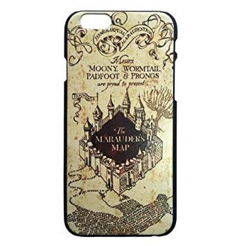 brand new cccf7 bdb51 Harry Potter iPhone 6 case - Hogwarts Marauder Map Slim Fit Hard Back  iPhone 6 Cover 4.7""