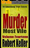 Murder Most Vile Volume 14: 18 Shocking True Crime Murder Cases (True Crime Murder Books)