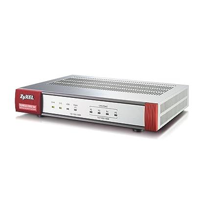 Zyxel ZyWALL USG20 Internet Security Firewall with 4 Gigabit LAN/DMZ Ports,  2 IPSec VPN, SSL VPN, and 3G WAN Support