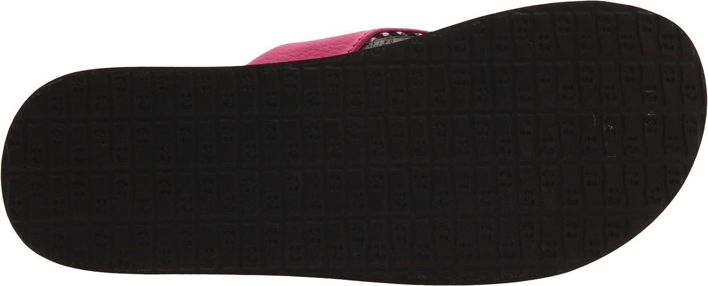 Sanuk (Rose) Yoga Mat 29418063 Damen Zehentrenner Rosa (Rose) Sanuk fed40d