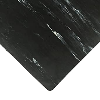 NoTrax Rubber 470 Marble Sof-Tyle Anti-Fatigue Mat, for Dry Areas, 2 ...