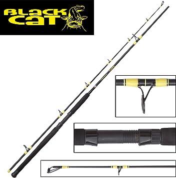 Black Cat Passion Pro Spin 2,70 m 200 g caña de Pescar para Siluro ...