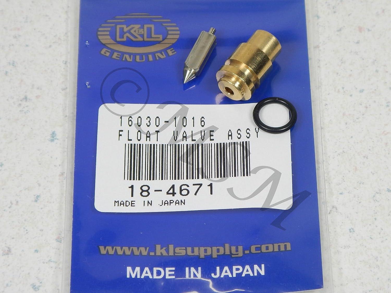 81-82 KAWASAKI KZ1000 LTD NEW K/&L FLOAT VALVE NEEDLE /& SEAT ASY 18-4671