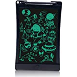 LCD Writing Tablet, 8.5 inch Super Light Electronic Drawing Writing Board with Lock Fuction, One-Button Erase, Digital…