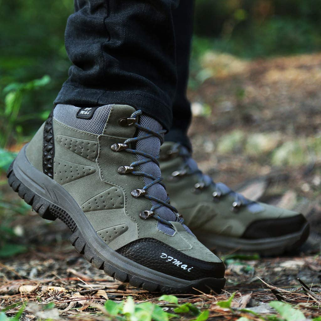 Mens Hiking Shoes 2019 New Lightweight Camping Backpacking Sport Outdoor Sneakers