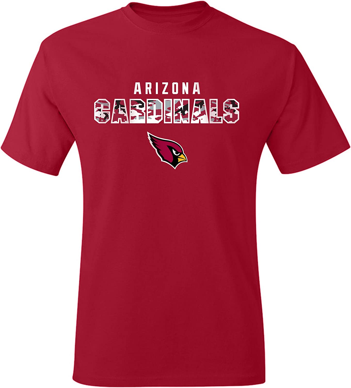 Zubaz Officially Licensed Mens NFL Mens Tonal Gray Wordmark Tee Team Color