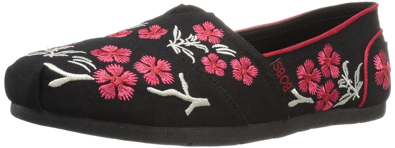 Bobs Aus Skechers Kuuml;hlung Luxus Schuh  5 B(M) US|Black Cherry Blossom