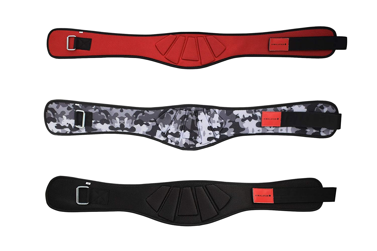 Himalayan Star Weight Lifting Belt Fitness Gym Workout Wide Back Support Brace Neoprene