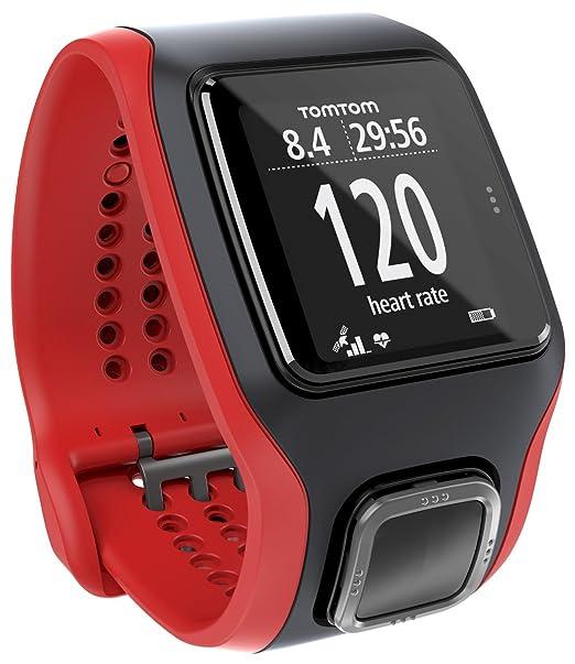 158 opinioni per TomTom Runner Cardio GPS Running Watch–Rosso/Nero (Ricondizionato Certificato)