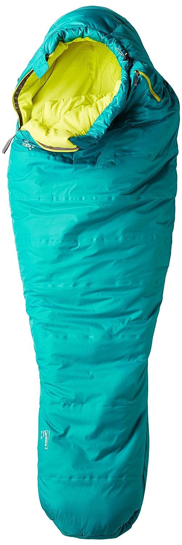 Mountain Hardwear Laminina Z Flame - Sacos de Dormir - Amarillo/Azul petróleo Modelo Izquierda 2018: Amazon.es: Deportes y aire libre