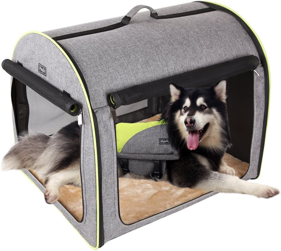 Petsfit Soft Portable Dog Crate/Cat Crate/Foldable Pet Kennel/Indoor Outdoor Pet Home