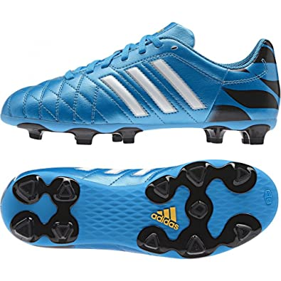 online retailer bfd9f eafc5 Adidas Mens 11 Questra FG Boots, BlackBlueWhite, UK 4.5 - EU 37 13  Amazon.co.uk Shoes  Bags