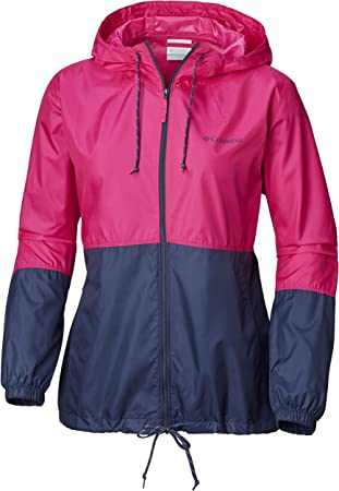 Cortavientos repelente al agua con capucha para mujer, adecuado para los días fríos de invierno en l