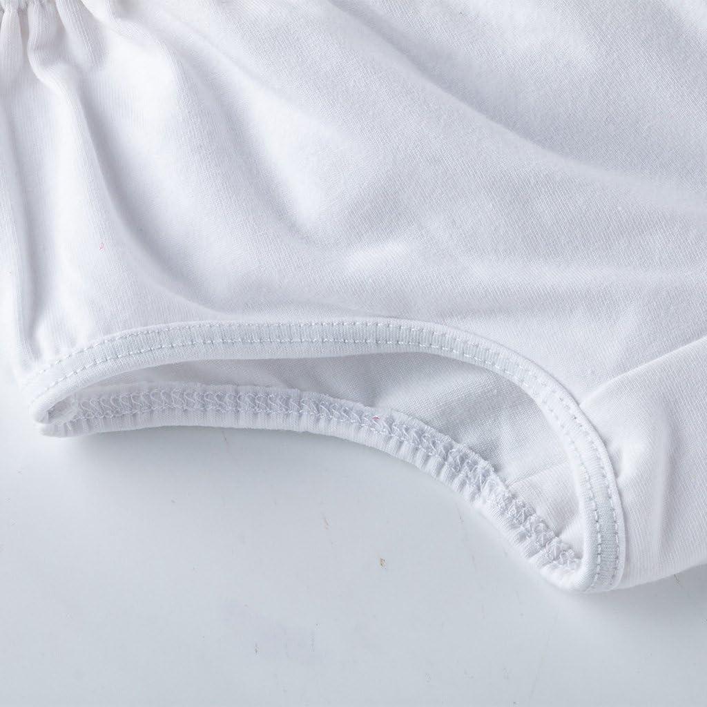 Fenteer Kinder Baby Unterw/äsche Unterhose H/öschen Mit R/üschen