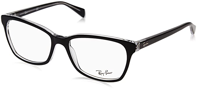 e418bb7bb5bcb Amazon.com  Ray-Ban Women s 0rx5362 No Polarization Square ...