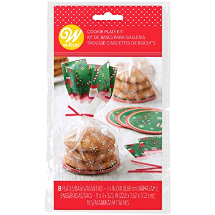 Amazon.com: Mini Treat Plate Gift Bag Kit-Christmas ...