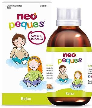 Neo Peques | Jarabe Infantil para Niños Relax | 150 ml | Ayuda a reducir la agitación nerviosa y la ansiedad de los niños | Principalmente contiene ...
