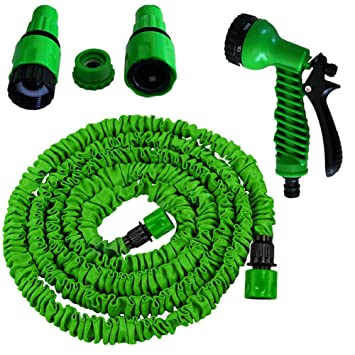 Grafner 30m Gartenschlauch Flexibler Wasserschlauch dehnbarer Flexischlauch