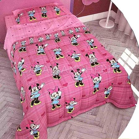 Trapunte E Piumoni Disney.G C Enterprise Trapunta Disney Minnie Hi Guys 1 Piazza E Mezza Amazon It Casa E Cucina
