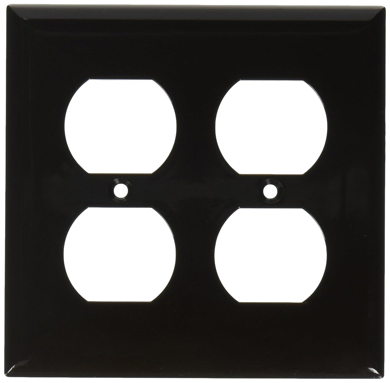 1 Gang Midsize Decorative GFCI Morris 81722 Lexan Wall Plate Brown