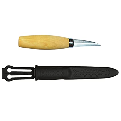 Mora FT16541 Cuchillo a Lama Fissa,Unisex - Adulto, Negro, un tamaño