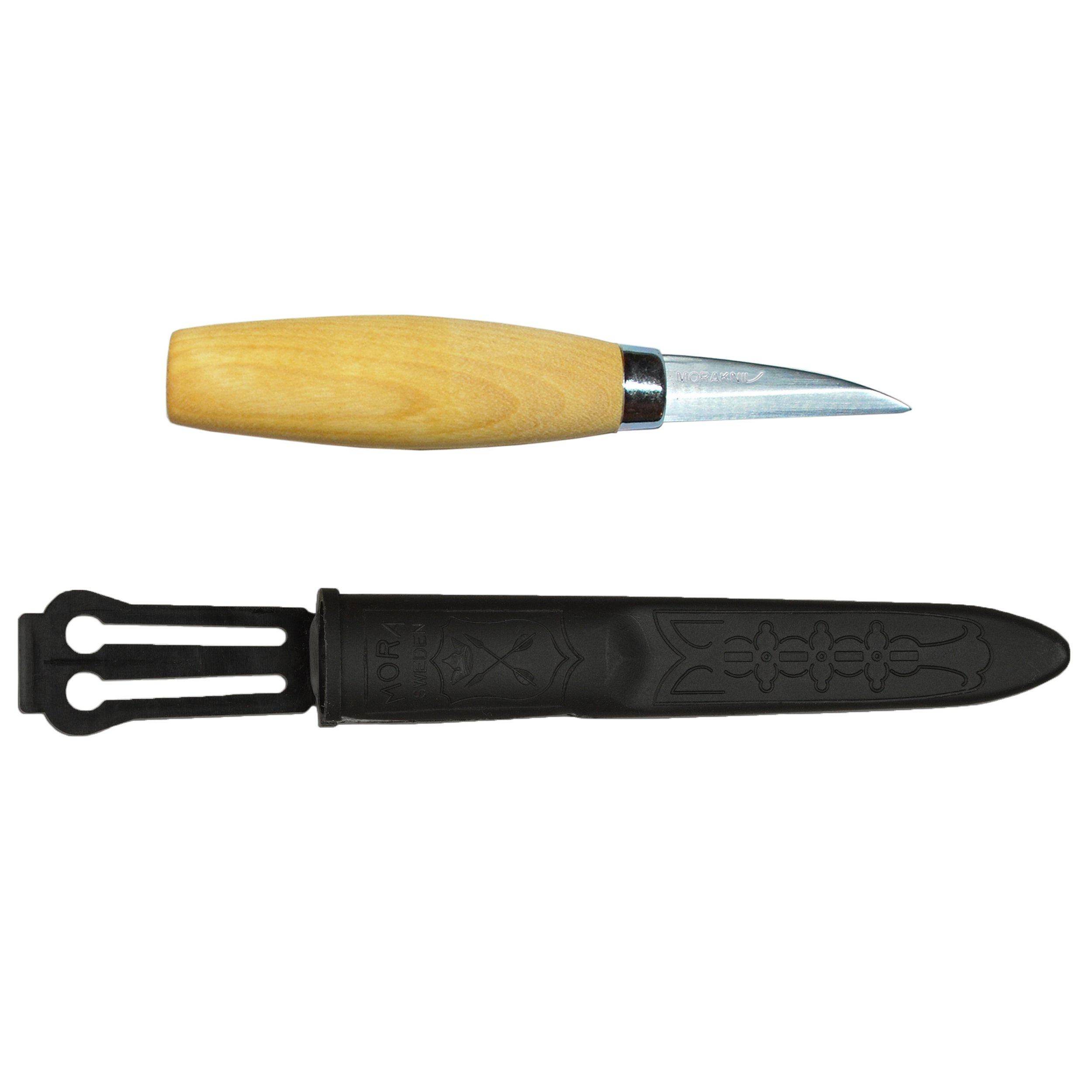 Morakniv Wood Carving 122 Knife with Laminated Steel Blade (2.4-Inch)