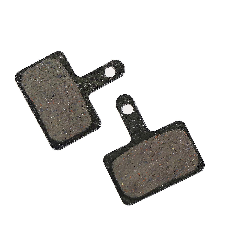 Jeu de 2 x 4 plaquettes de frein pour Shimano BR-M575 BR-M525 BR-M506 BR-M505 BR-M495 BR-M486 BR-M485 BR-M475 BR-M465 BR-M447 BR-M446 BR-M445 BR-M416