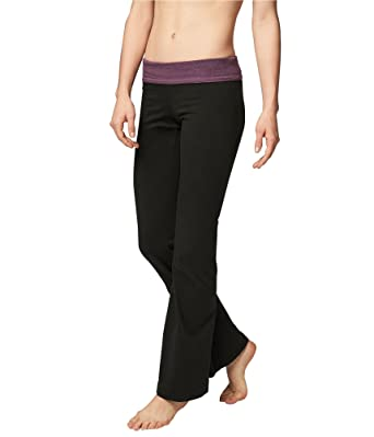 1a57f242d78d27 Aeropostale Womens The Perfect Bootcut Casual Leggings Black S/32 - Juniors