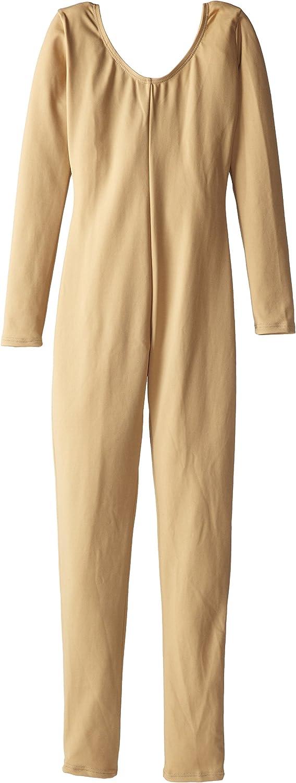 Capezio Girls' Team Basic Long Sleeve Unitard: Clothing