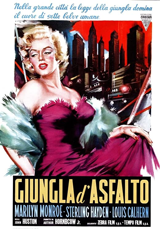 Asphalt Jungle French Movie Poster 24x36