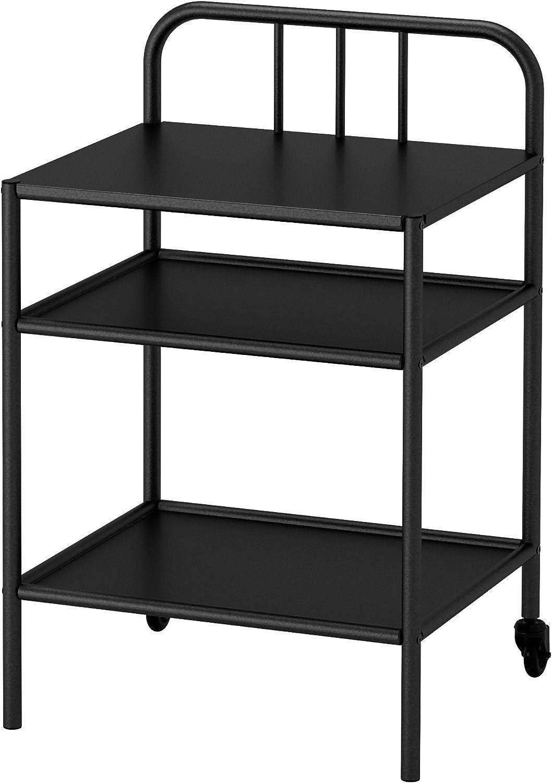 IKEA Fyresdal Night Stand Bedside Table Black: Amazon.de: Küche
