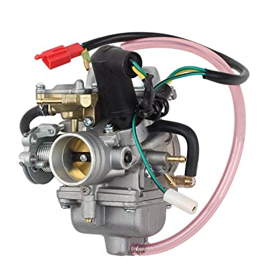 mycheng250CC Carburetor Fit for Honda CN250, CF250 CH250 Scooter, Mopeds, Fits Chinese 250cc Scooter, Moped, Go Karts, Compatible with: CH125 CH150 CH250 ELITE SCOOTER 250CC QUAD ATV SCOOTER 250 CA11: Automotive