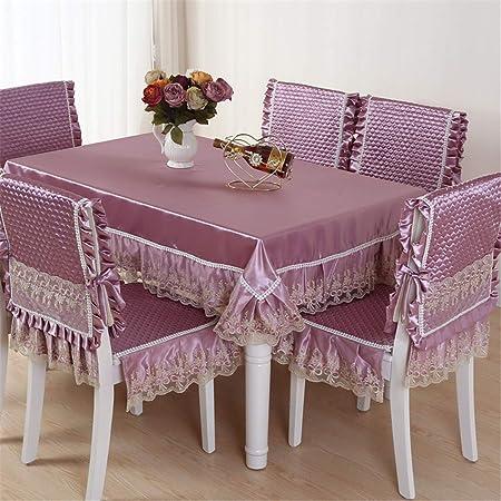 ZGHAFBES - Juego de Mesa de Comedor sillas y mesas de cojín y ...