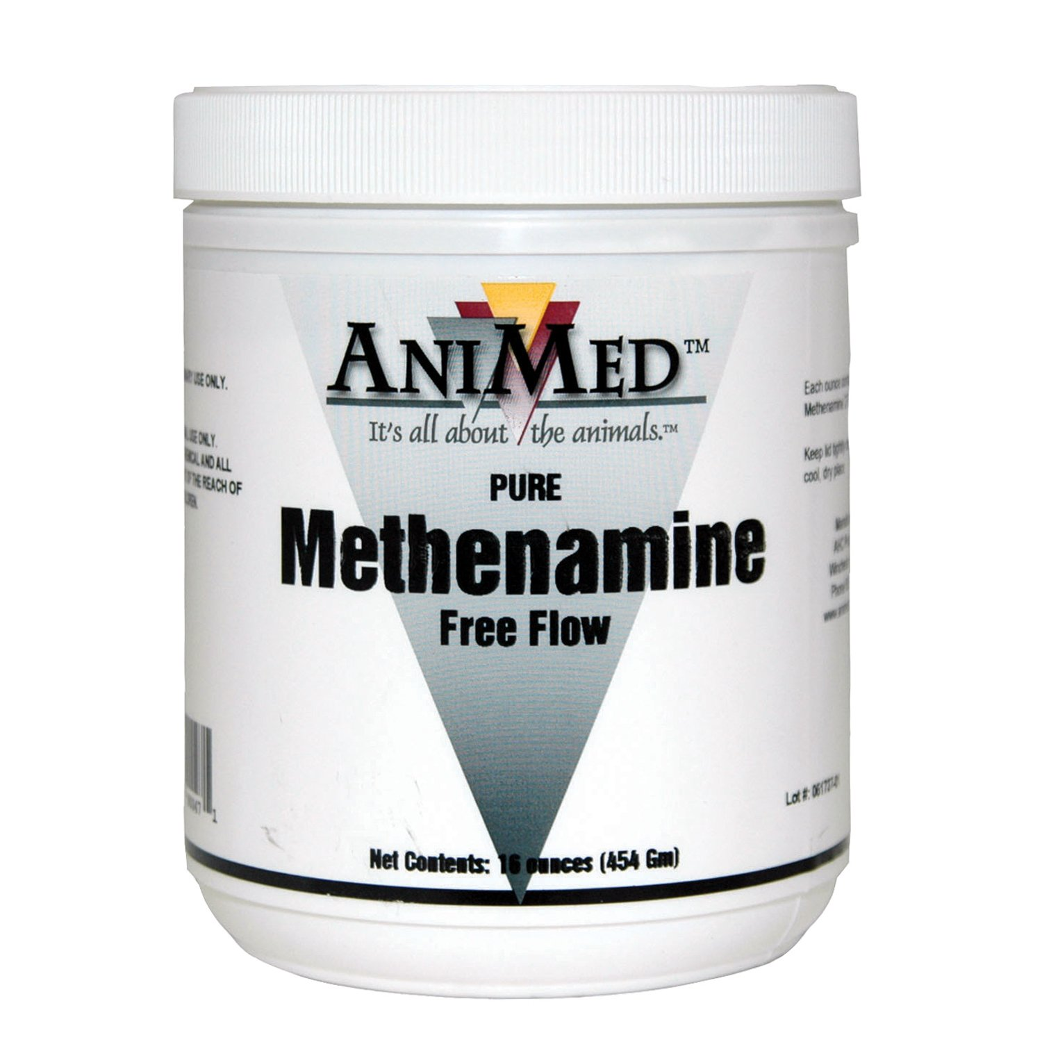 AniMed Methenamine Pure Multi-Species Pet Supplement, 16-Ounce by AniMed