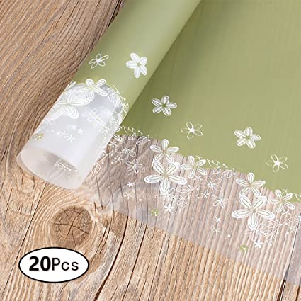 Amazon Com Zhi Jin Cellophane Gift Wrapping Paper