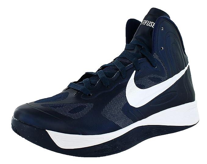 Zapatos Nike Hyperfuse Tb Baloncesto - Armada: Amazon.es: Ropa y ...