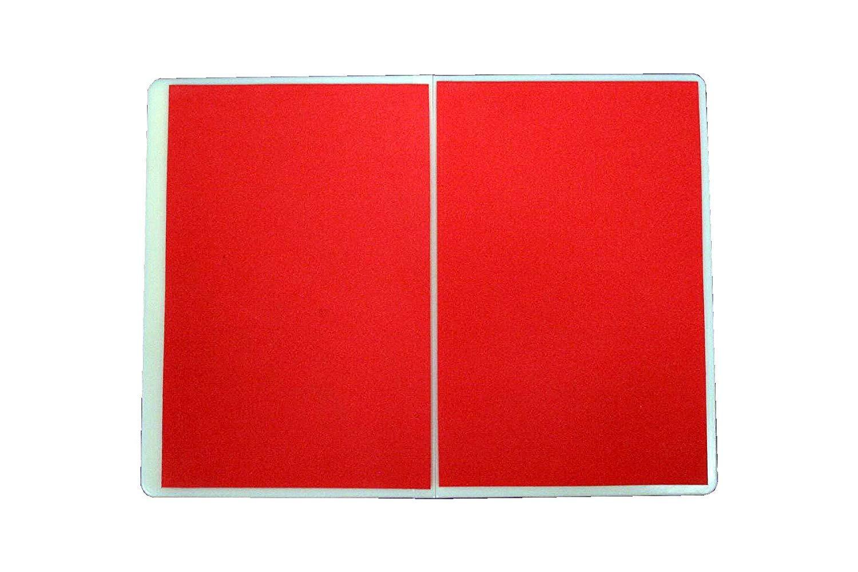 Economy Rebreakable Board Taekwondo, MMA, Karate, Martial Art (Child - Yellow; Easy - Blue; Average - Red; Hard - Black) (Red (Average)) by Masterline