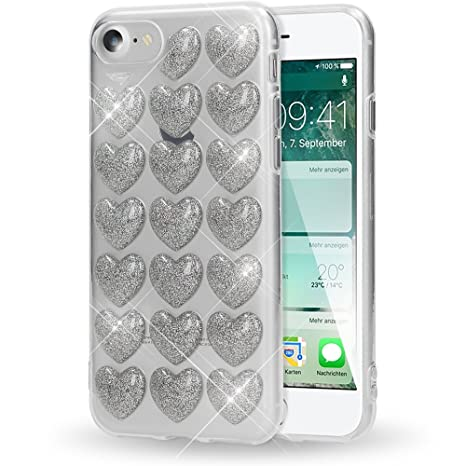 coque coeur iphone 8