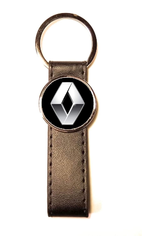 Llavero de Acero y Piel sintética Classic Circle Renault ...