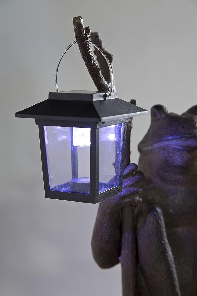 Wind & Weather LT7411 Outdoor Sitting Frog Garden Statue