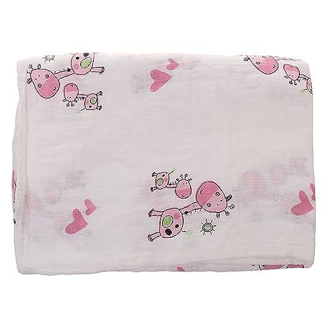 fostly bebé manta bebé toalla de baño toalla de algodón de manta para bebé suave manta