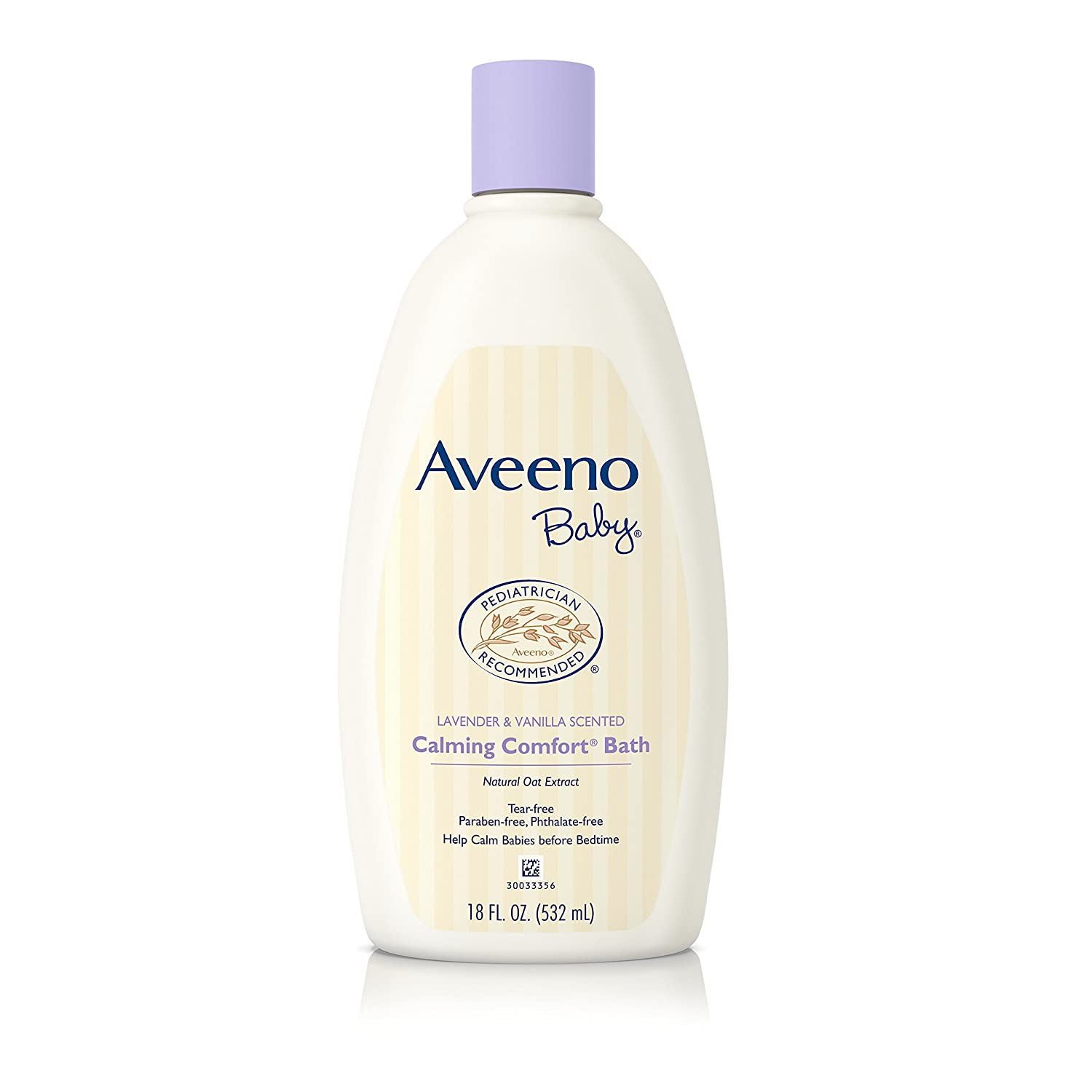 Aveeno Baby Calming Comfort Bath With Lavender And Vanilla, 18 Oz 381371019427