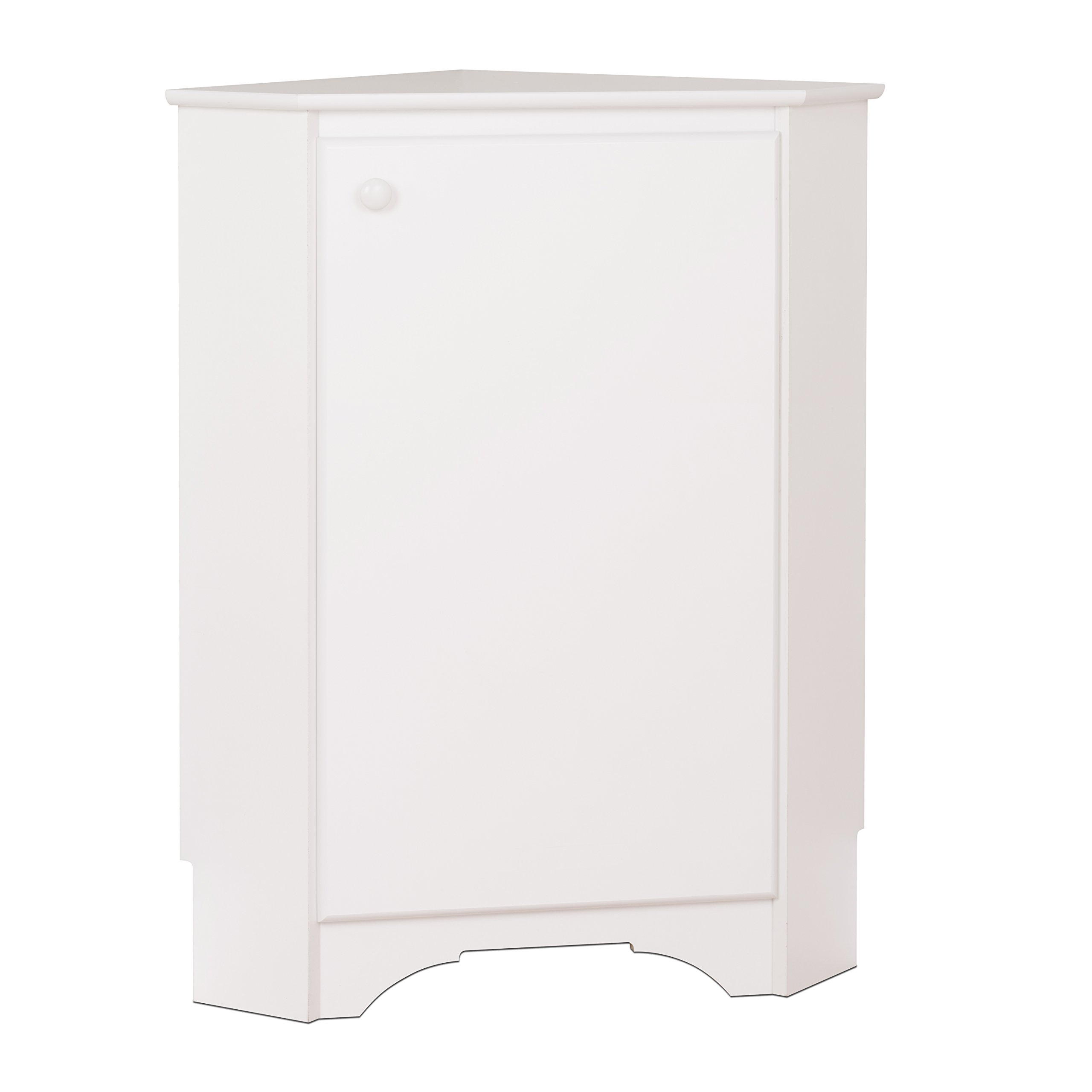 Prepac WSCC-0603-1 Home, Elite Corner Storage Cabinet, White